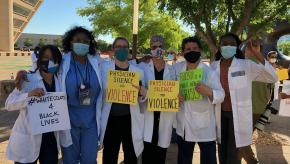 KD Doctors Protest