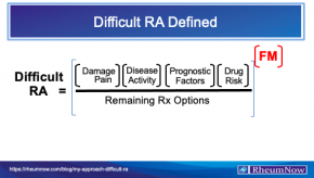 Difficult RA Defined