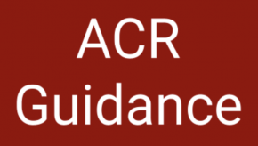 ACR, guidance, guidelines
