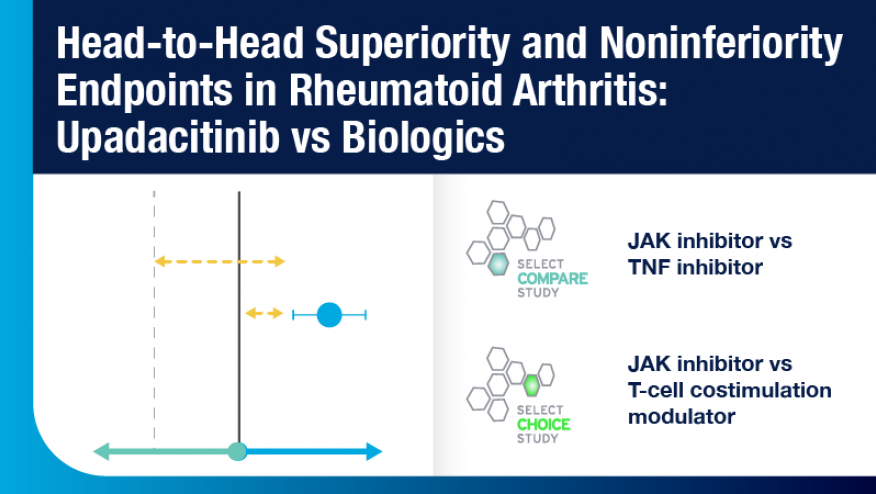 Head-to-Head Superiority and Noninferiority Endpoints in RA